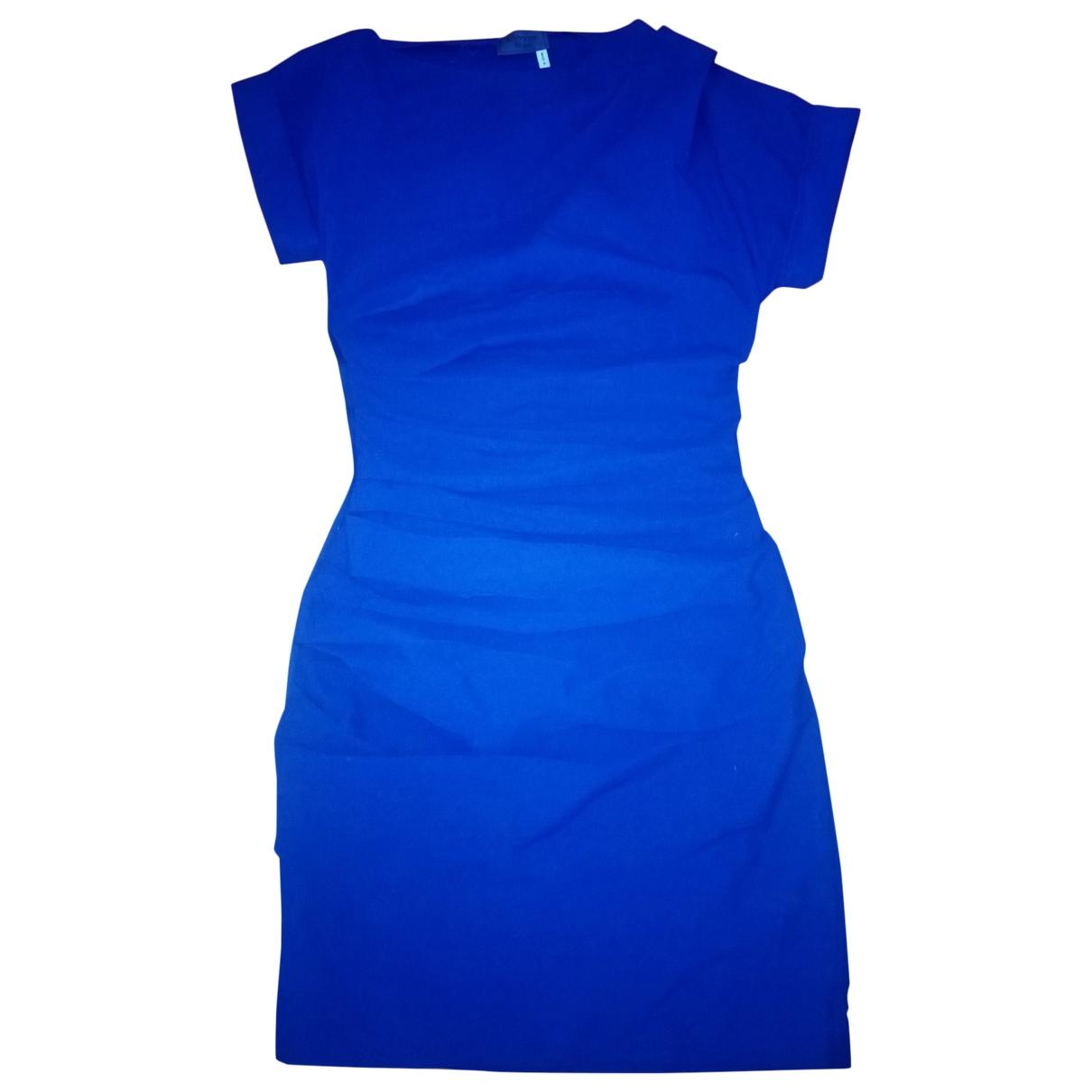 Lanvin \N Blue Linen dress for Women 36 FR