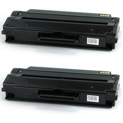 Compatible Samsung MLT-D115L Black Toner Cartridge - Economical Box - 2/Pack