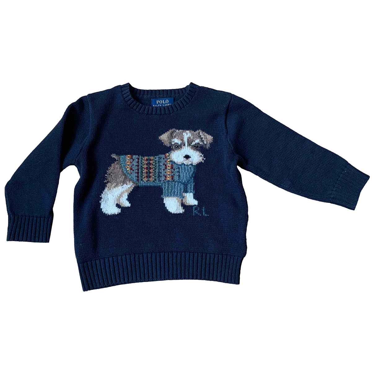 Polo Ralph Lauren \N Navy Cotton Knitwear for Kids 3 years - up to 98cm FR
