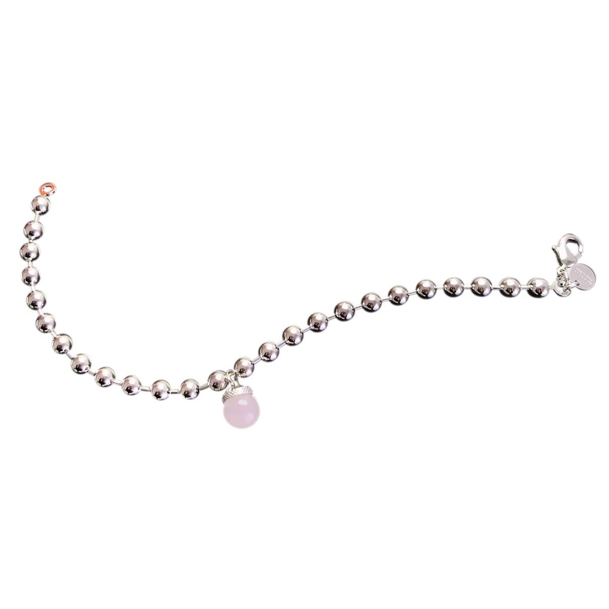 Rebecca - Bracelet   pour femme en acier - blanc