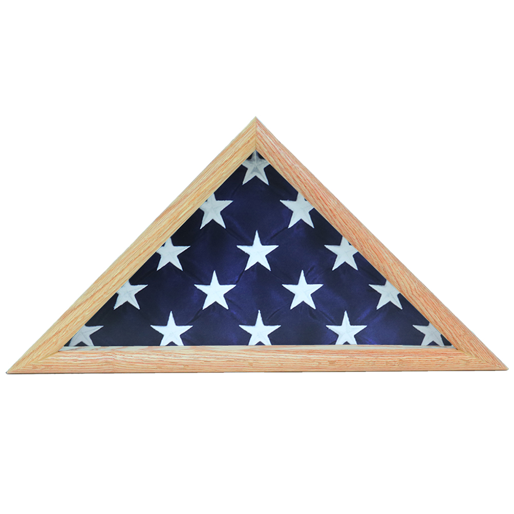 Ceremonial Flag Case, Oak