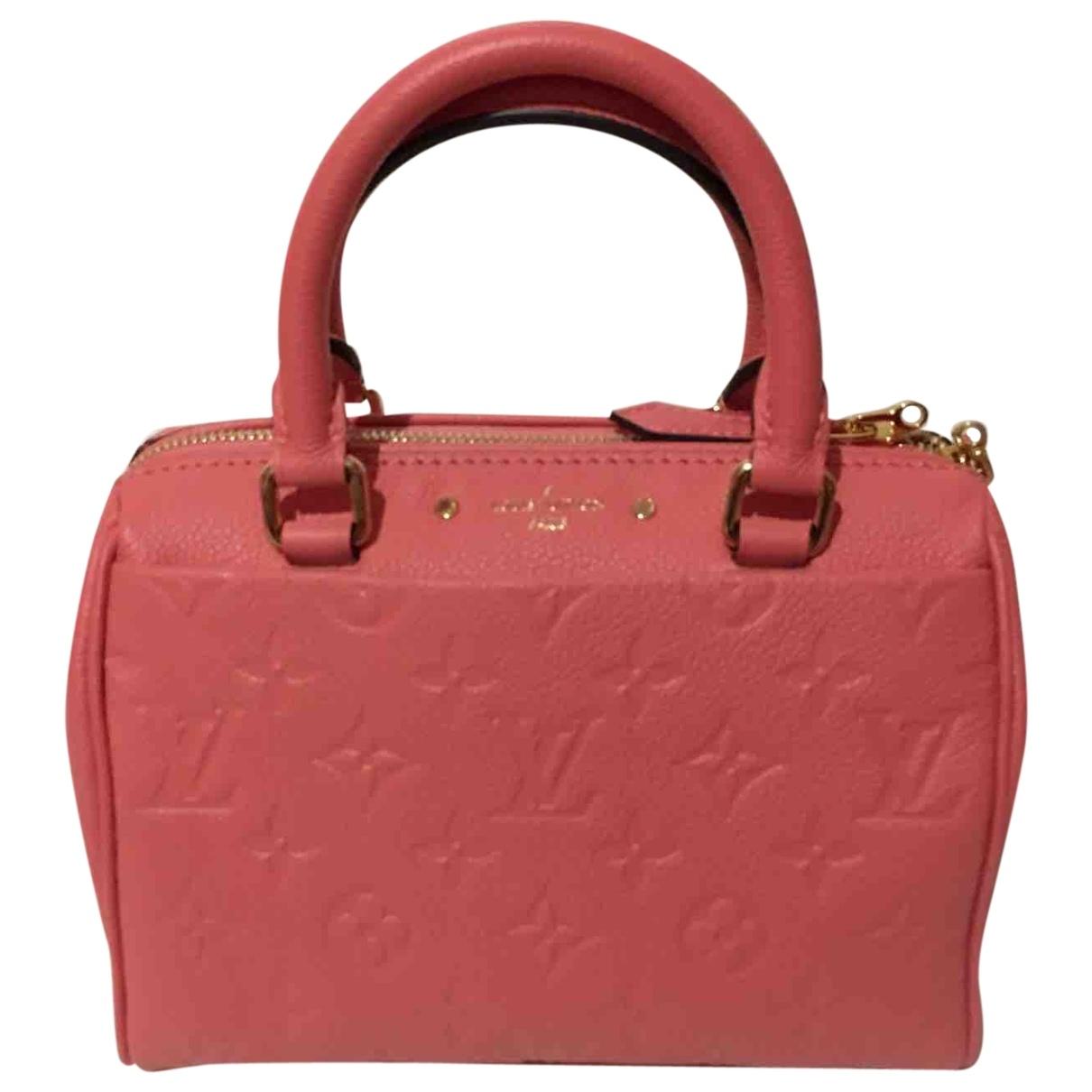 Bolso  Speedy Bandouliere de Cuero Louis Vuitton