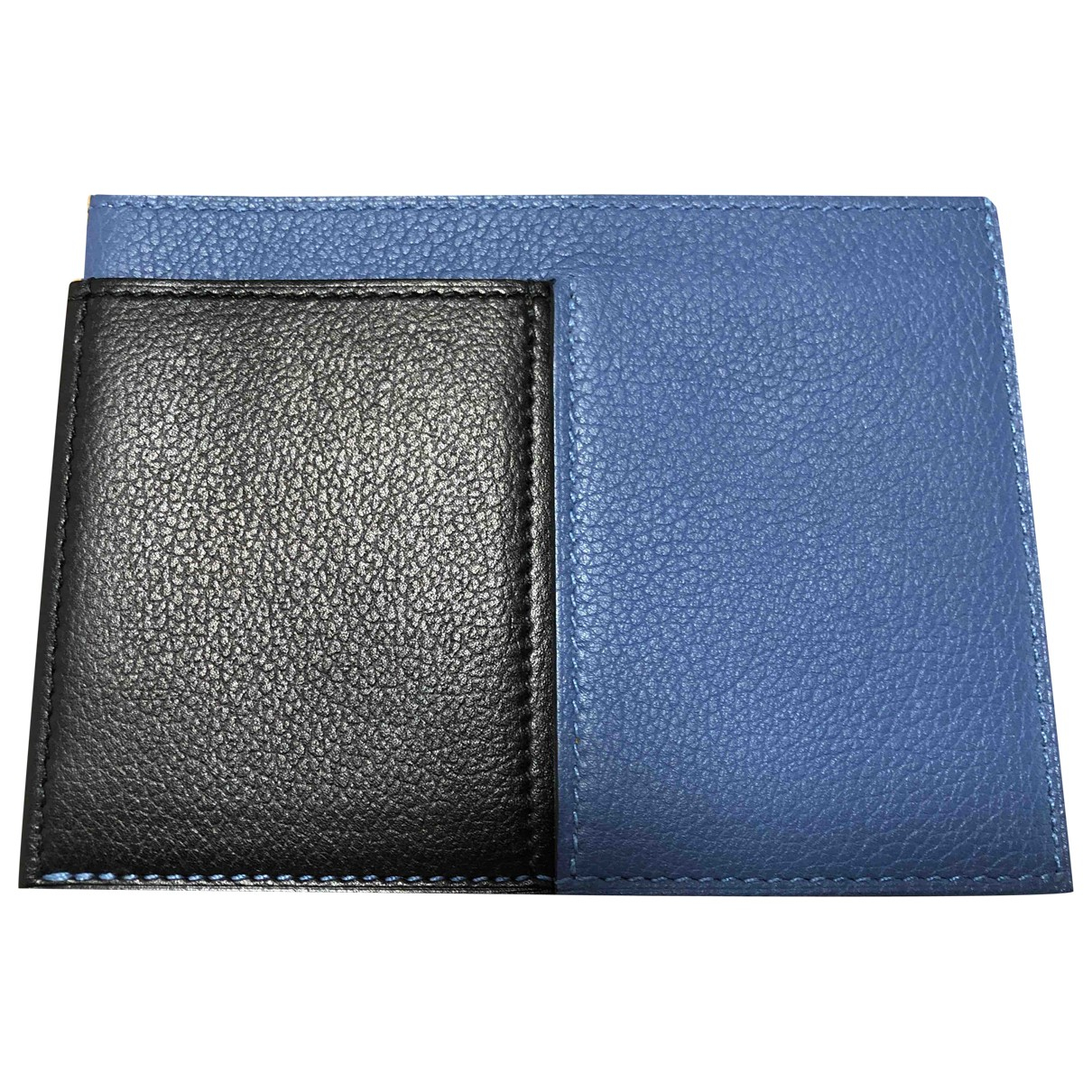 Hermes - Petite maroquinerie   pour homme en cuir - bleu