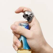 Guys Skeleton Opener Ring