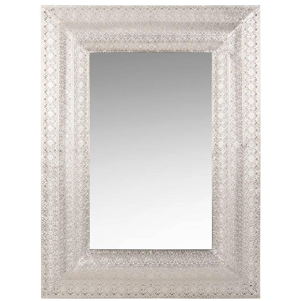 Spiegel mit Metallrahmen mit Motiven 59x79