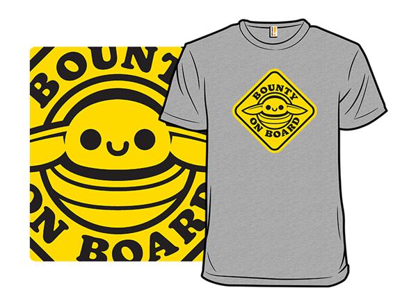 Bounty On Board T Shirt