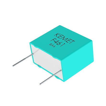 KEMET 1.5μF Polypropylene Capacitor PP 250 V ac, 560 V dc ±10% Tolerance Through Hole R75L Series (288)