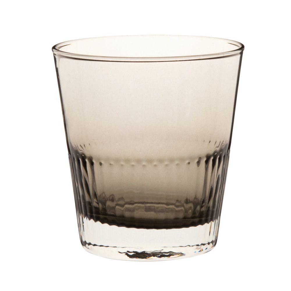 Glas aus Verlaufsglas, grau