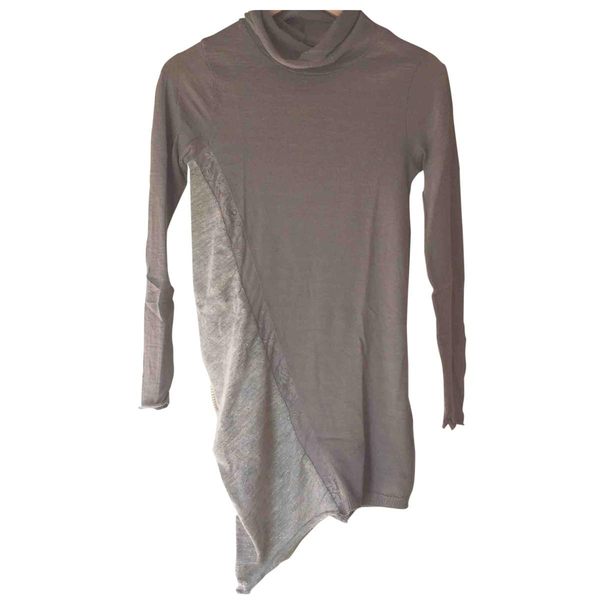 Liu.jo - Pull   pour femme en laine - gris
