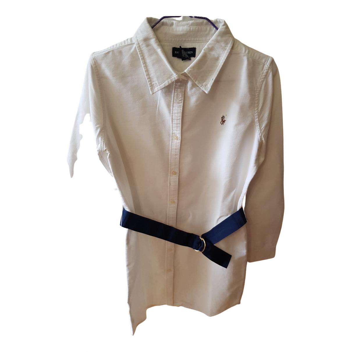 Ralph Lauren - Top   pour enfant en coton - blanc