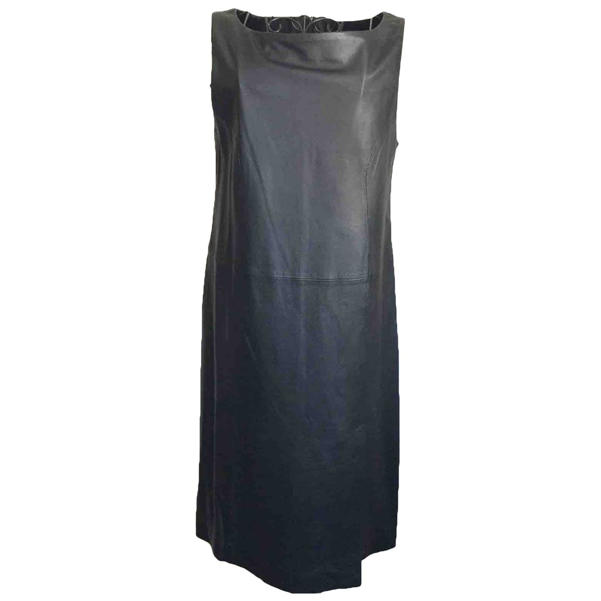 Raoul \N Kleid in  Schwarz Leder