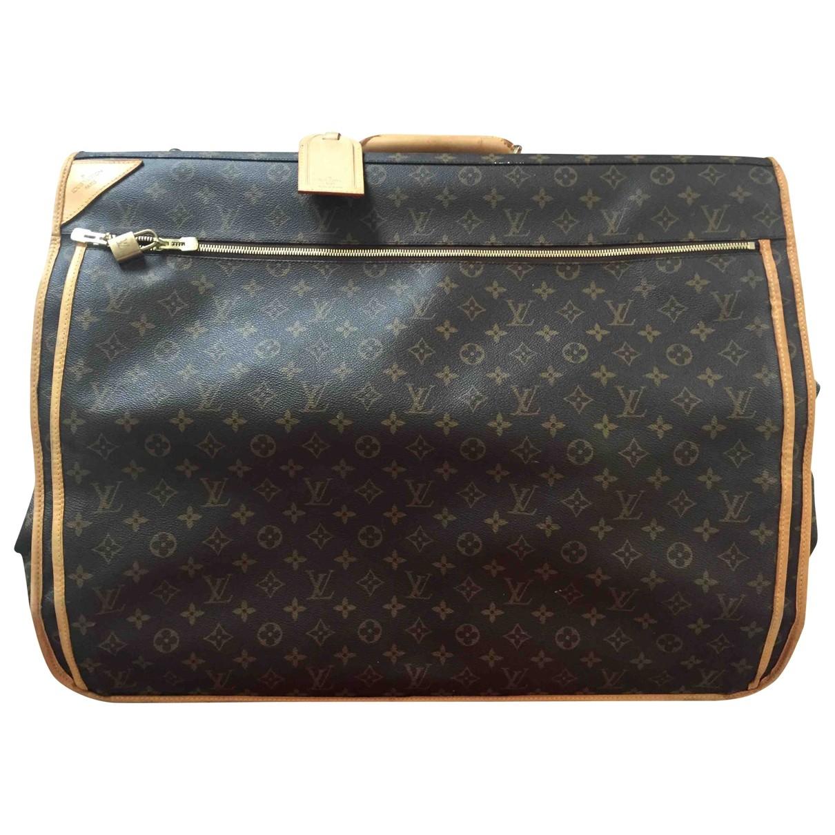 Bolso de viaje Garment de Lona Louis Vuitton