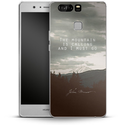 Huawei P9 Silikon Handyhuelle - The Mountain Is Calling von Leah Flores