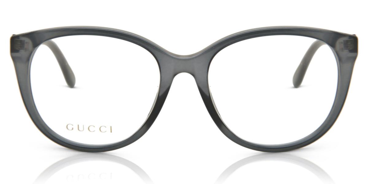 Gucci GG0791O 001 Women's Glasses Grey Size 53 - Free Lenses - HSA/FSA Insurance - Blue Light Block Available