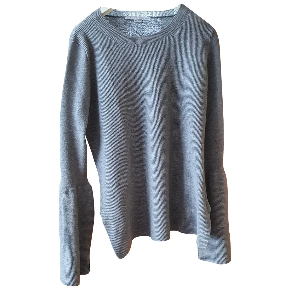 Stella Mccartney - Pull   pour femme en laine - gris