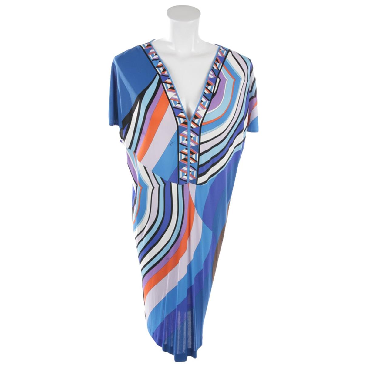 Emilio Pucci \N Multicolour Cotton dress for Women 40 FR