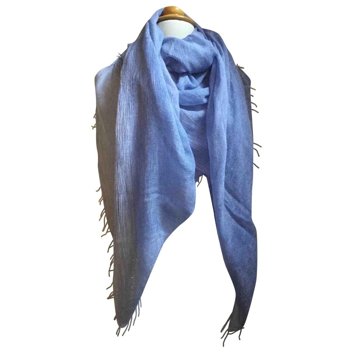 Blumarine - Foulard   pour femme en autre - bleu