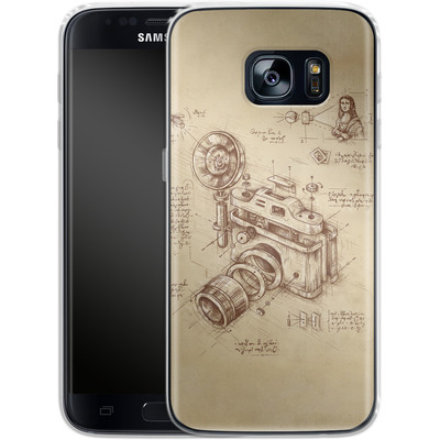 Samsung Galaxy S7 Silikon Handyhuelle - Moment Catcher von Enkel Dika