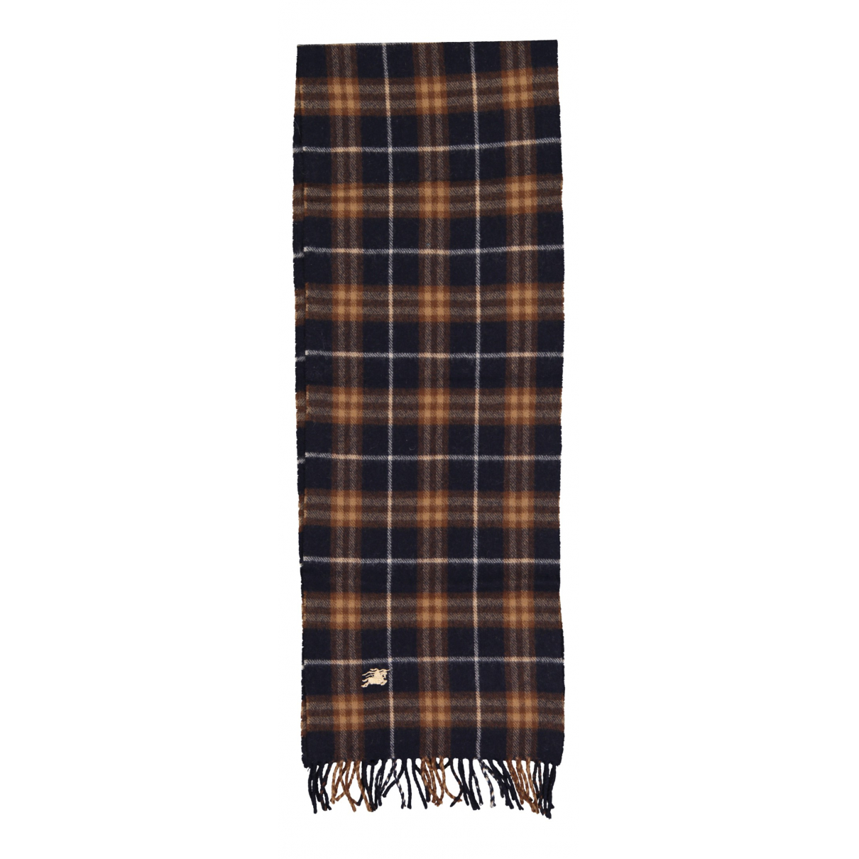 Burberry \N Schal in  Marine Wolle
