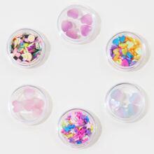 6boxes Mix Shape Nail Art Decoration