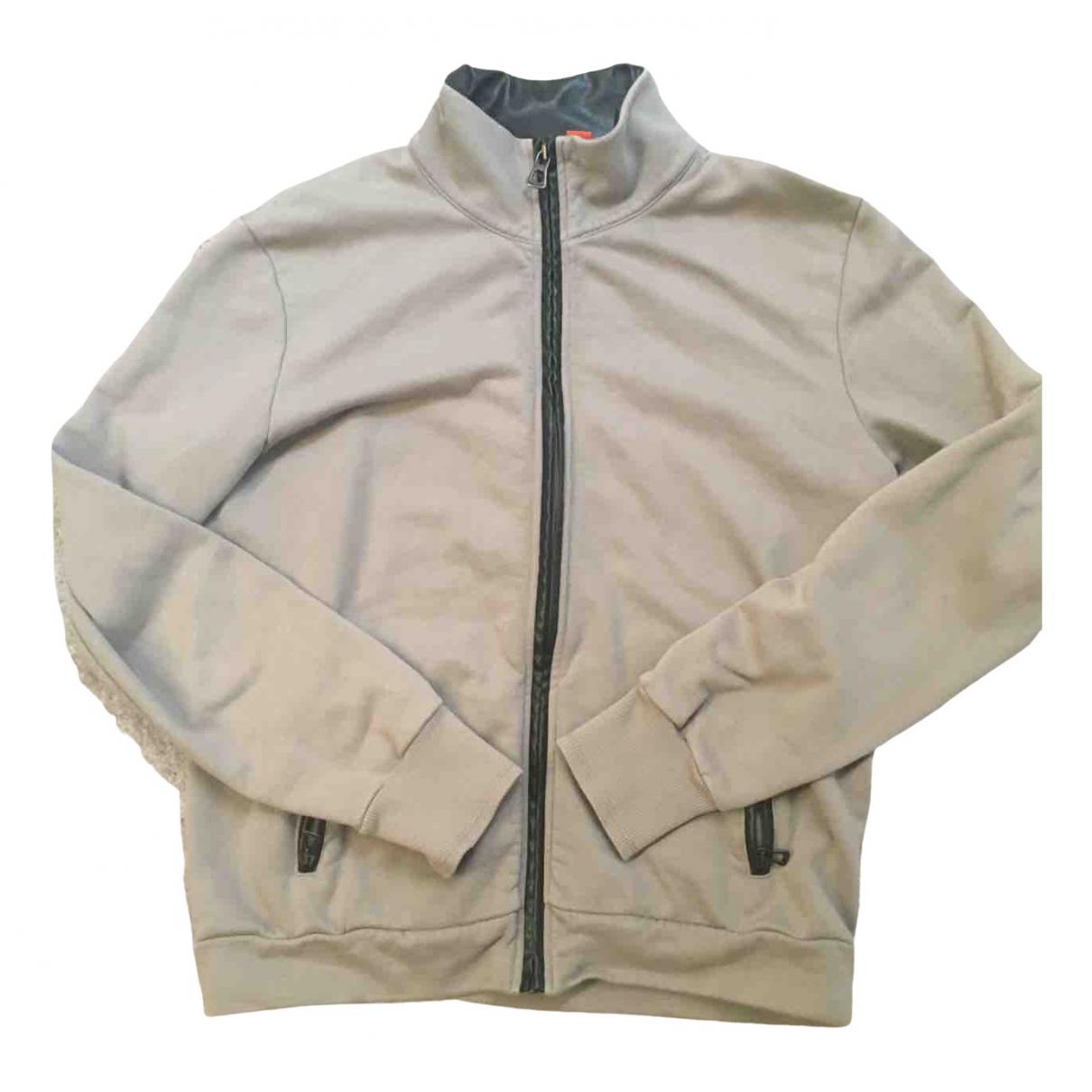 Boss \N Grey Leather Knitwear & Sweatshirts for Men M International