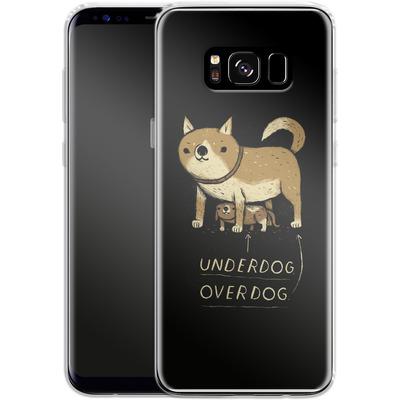 Samsung Galaxy S8 Silikon Handyhuelle - Underdog Overdog von Louis Ros