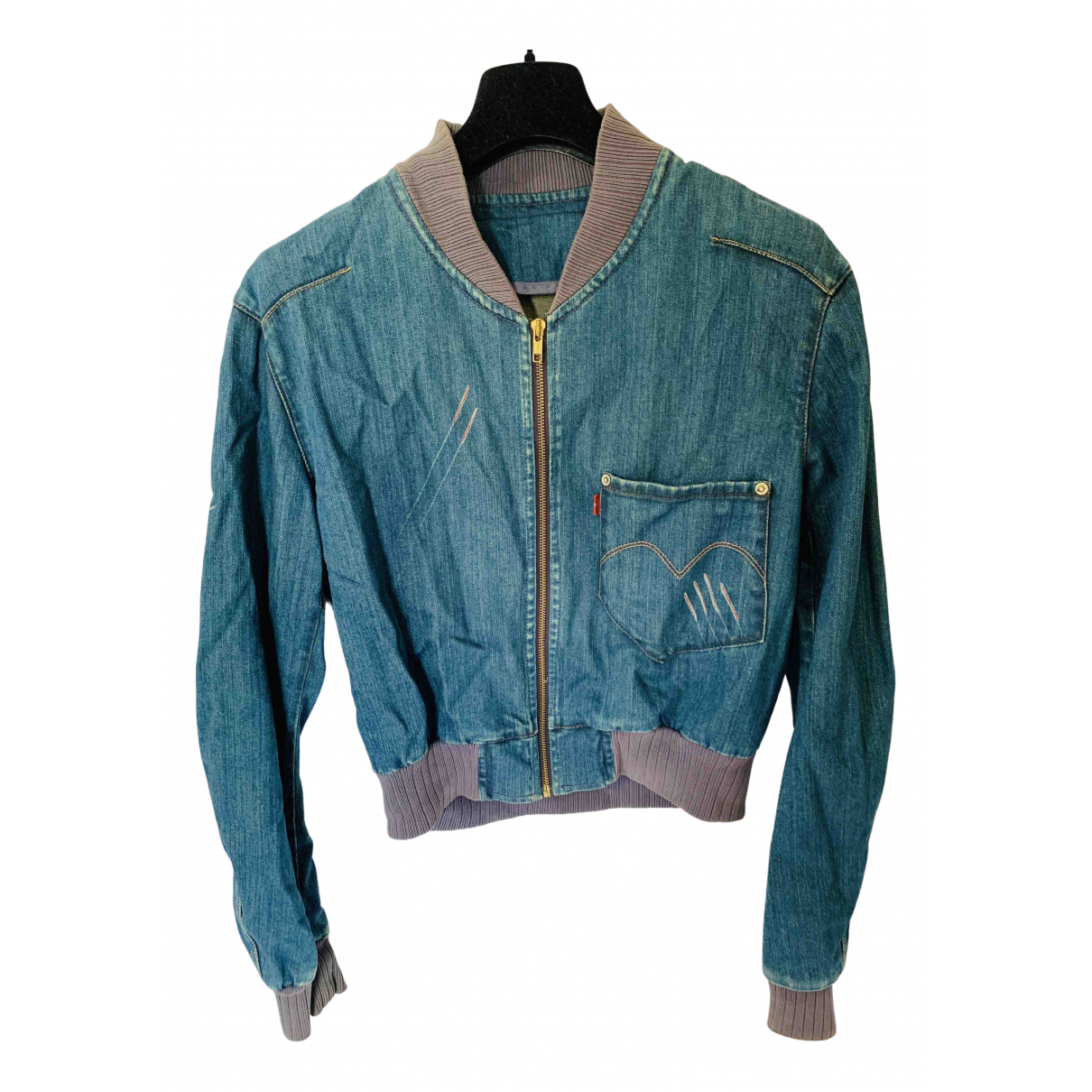 Levi's Vintage Clothing N Blue Cotton jacket for Women S International