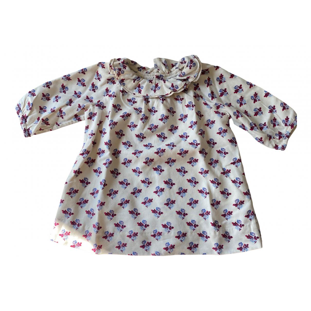Bonpoint - Robe    pour enfant en coton - multicolore