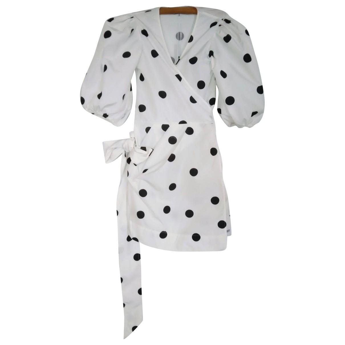 Ganni Spring Summer 2020 White dress for Women 34 FR