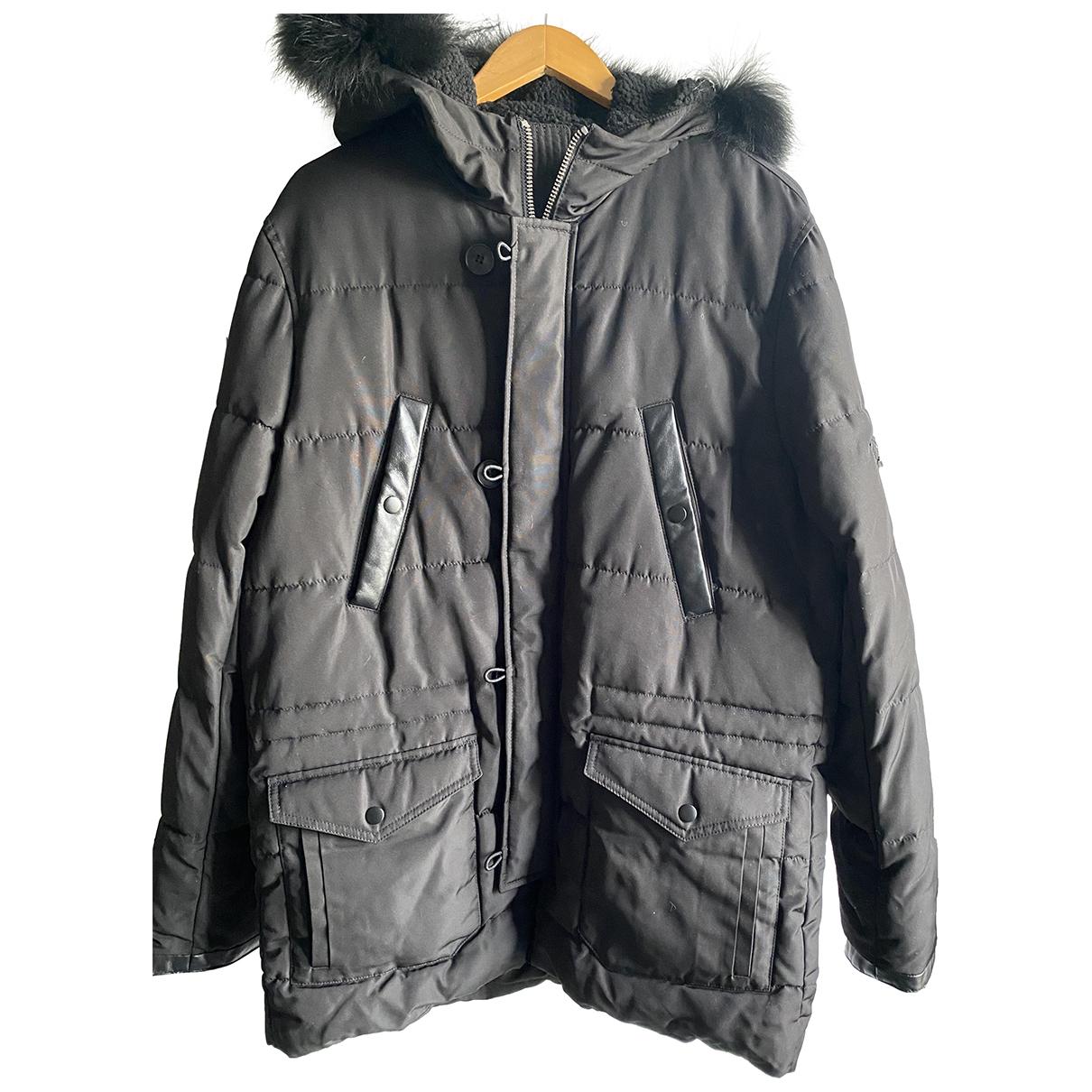The Kooples - Manteau Fall Winter 2019 pour homme en racoon - noir
