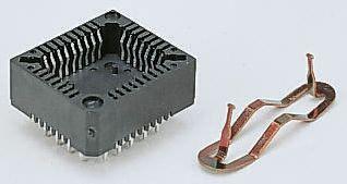 E-TEC 2.54mm Pitch 52 Way PLCC Socket