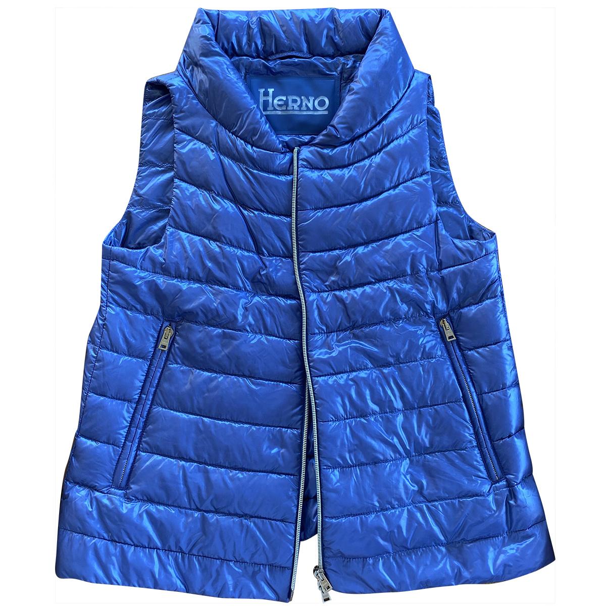 Herno - Veste   pour femme - bleu