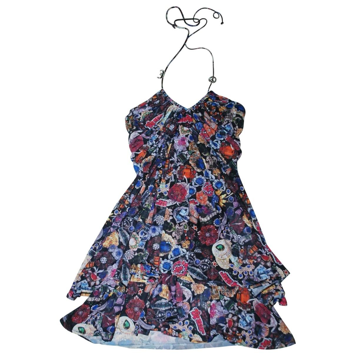 John Galliano - Robe   pour femme - multicolore