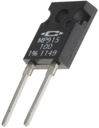 Caddock 100Ω Power Film Resistor 15W ±1% MP915-100-1%