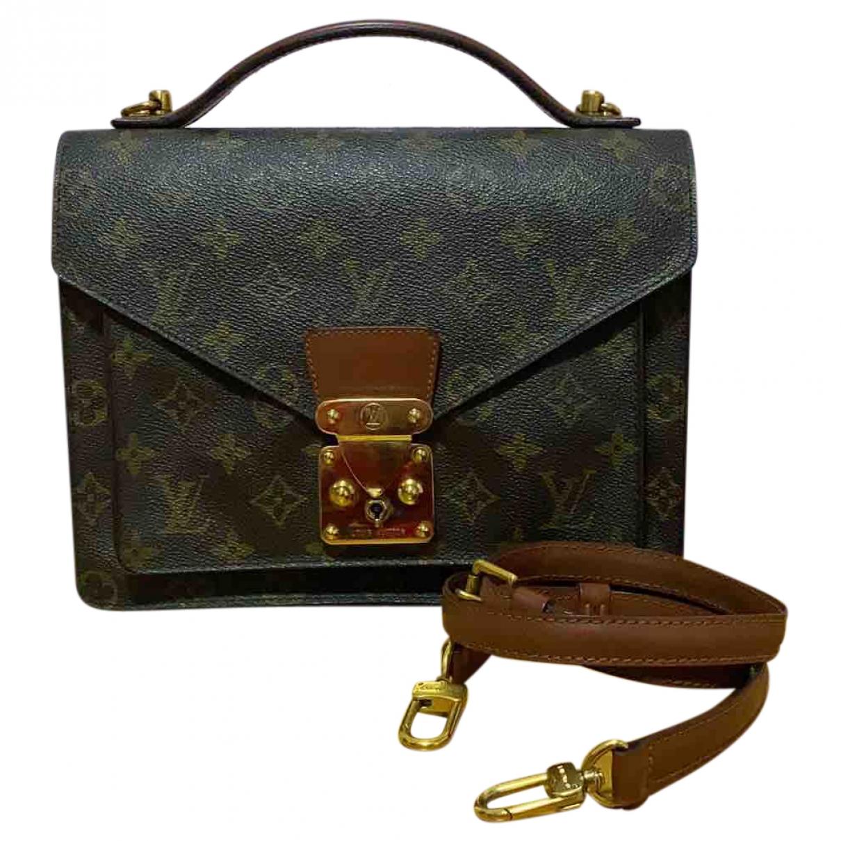 Louis Vuitton Monceau Cloth handbag for Women \N
