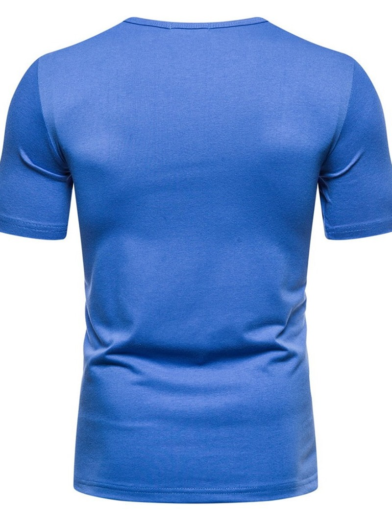 Ericdress Print Round Neck European Pullover Slim T-shirt
