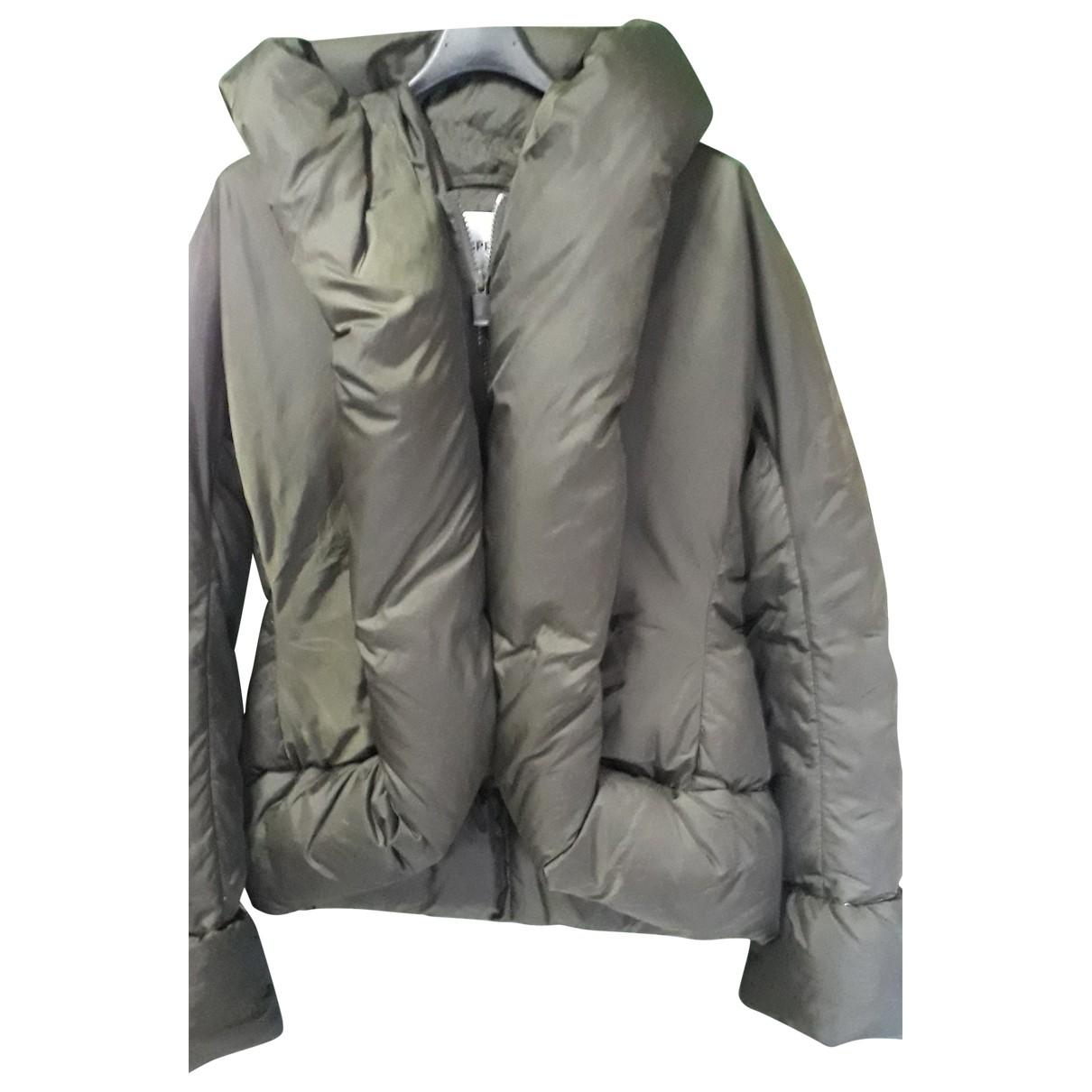 Aspesi \N Jacke in  Gruen Polyester