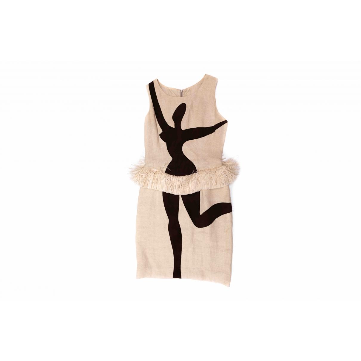 Vestido midi de Lino Moschino