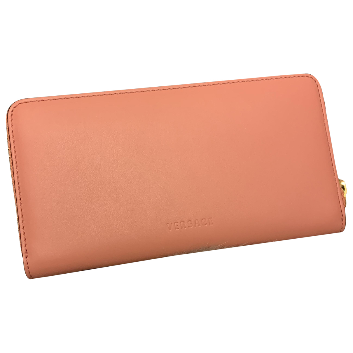 Versace N Pink Leather wallet for Women N