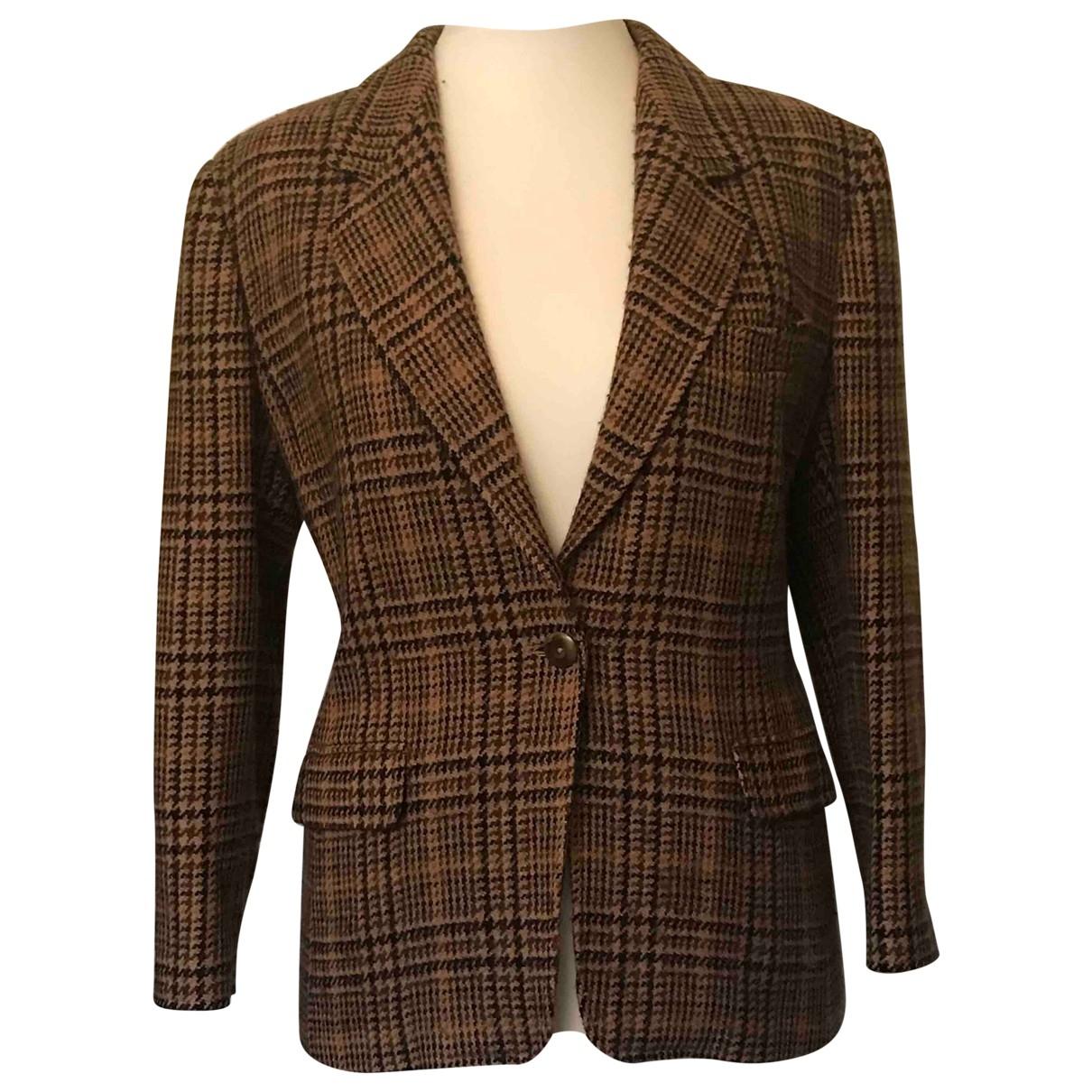 Marella \N Camel Wool jacket for Women 42 FR