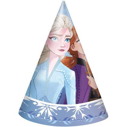 Disney Frozen 2 chapeaux de fête, 8ct Pour la fête d'anniversaire