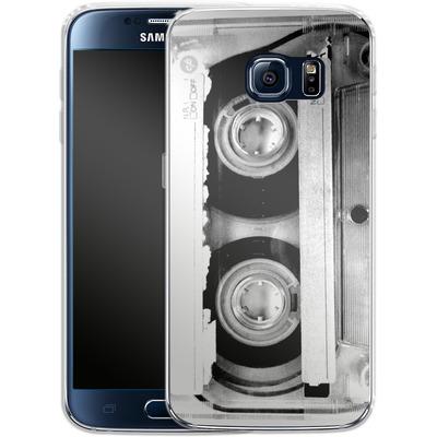 Samsung Galaxy S6 Silikon Handyhuelle - Mixtape One von Claus-Peter Schops