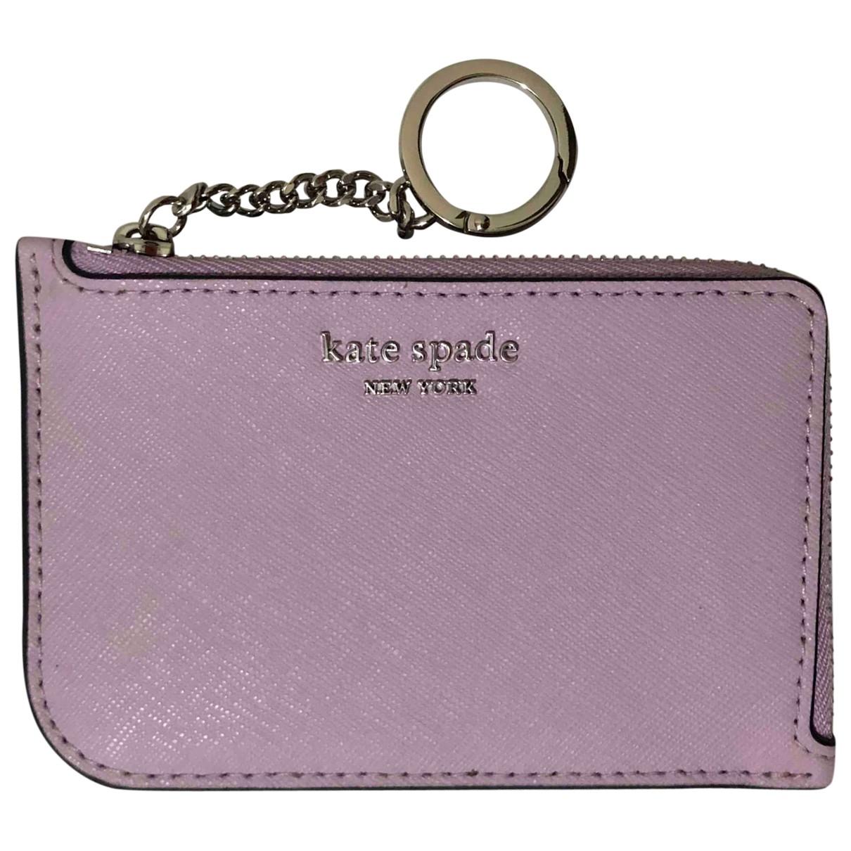 Kate Spade \N Purple Leather Purses, wallet & cases for Women \N