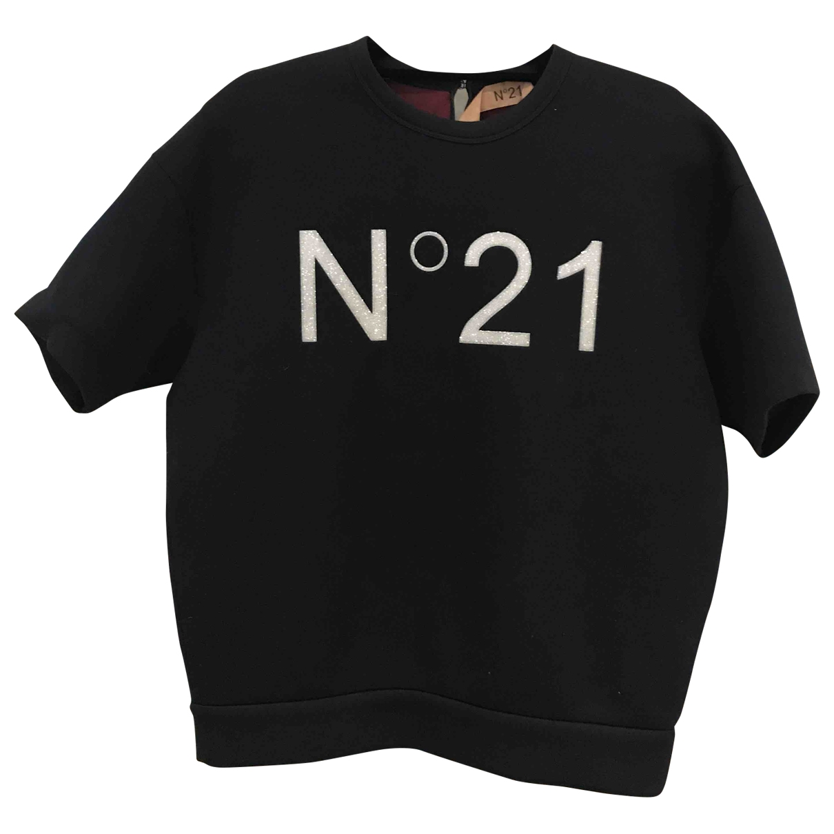 N°21 \N Navy Sponge  top for Women 38 IT