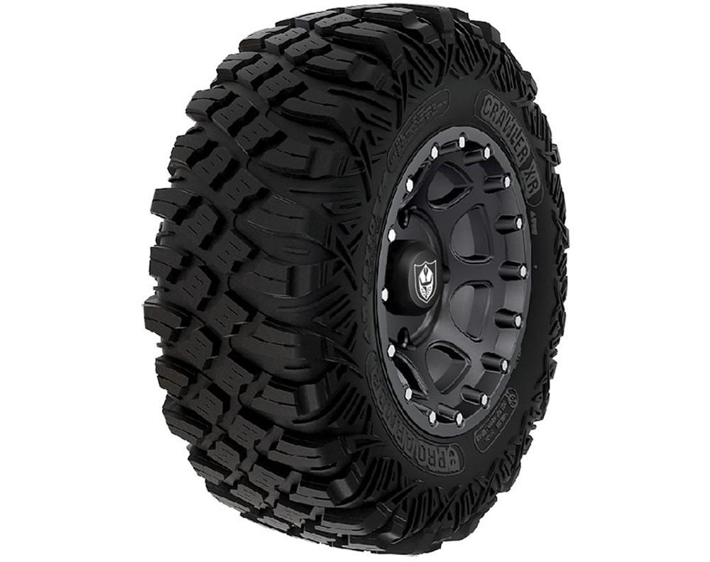 Polaris OEM 2881356 Wheel & Tire Set: Pro Armor Crawler XR & Shackle- Matte Black
