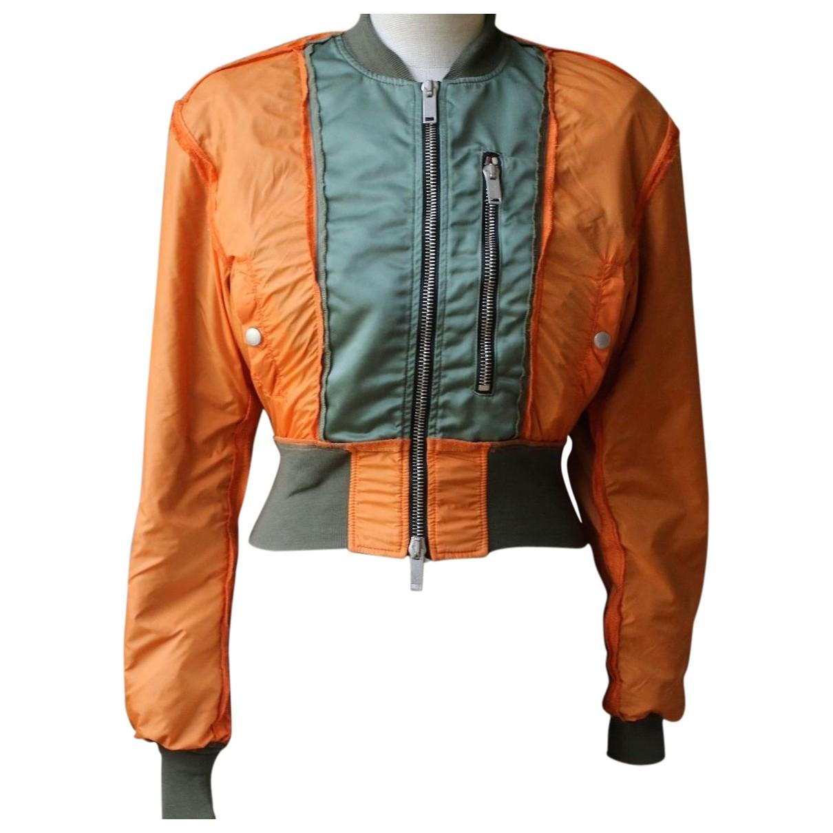 Unravel Project - Veste   pour femme en coton - orange