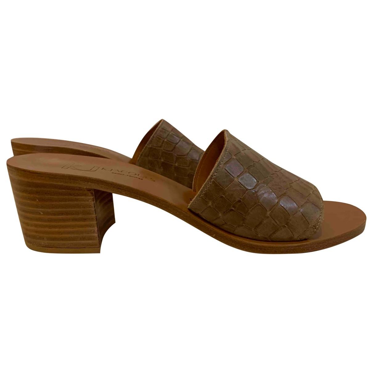 K Jacques - Sandales   pour femme en cuir