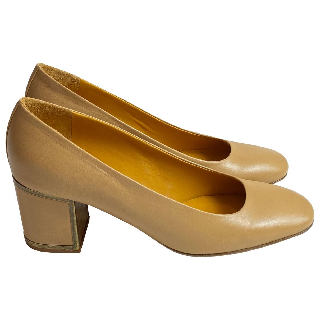 Véronique Branquinho \N Brown Leather Heels for Women 41 EU
