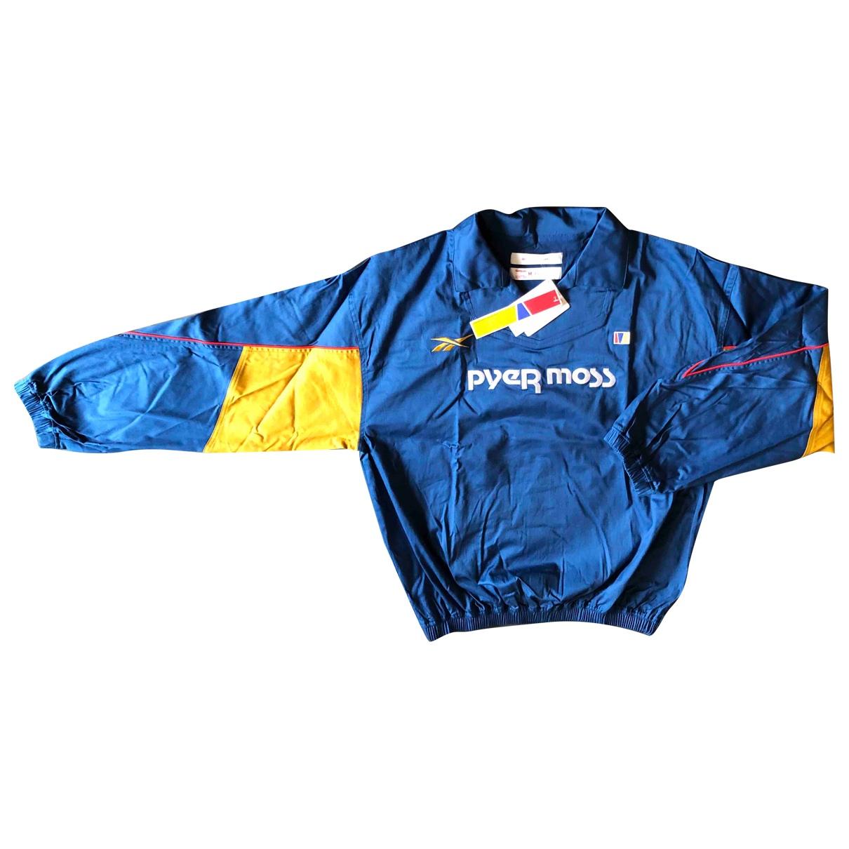 Autre Marque \N Pullover.Westen.Sweatshirts  in  Blau Baumwolle