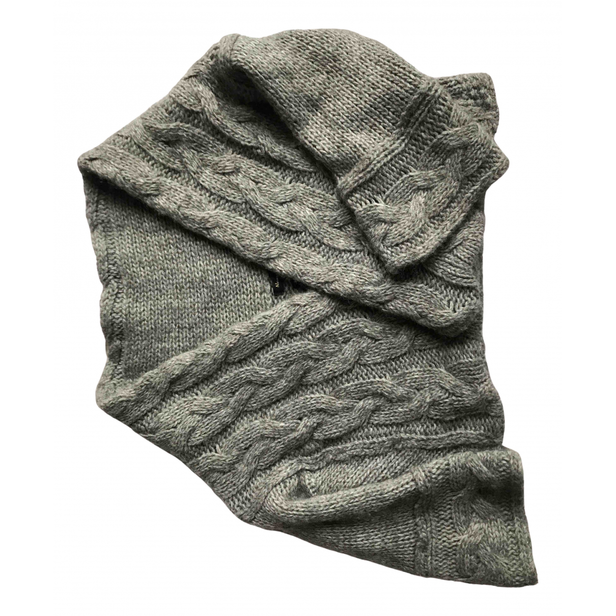 Massimo Dutti - Pull   pour femme en laine - gris